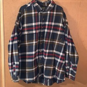 M. Fine & Sons Heavy Flannel Shirt